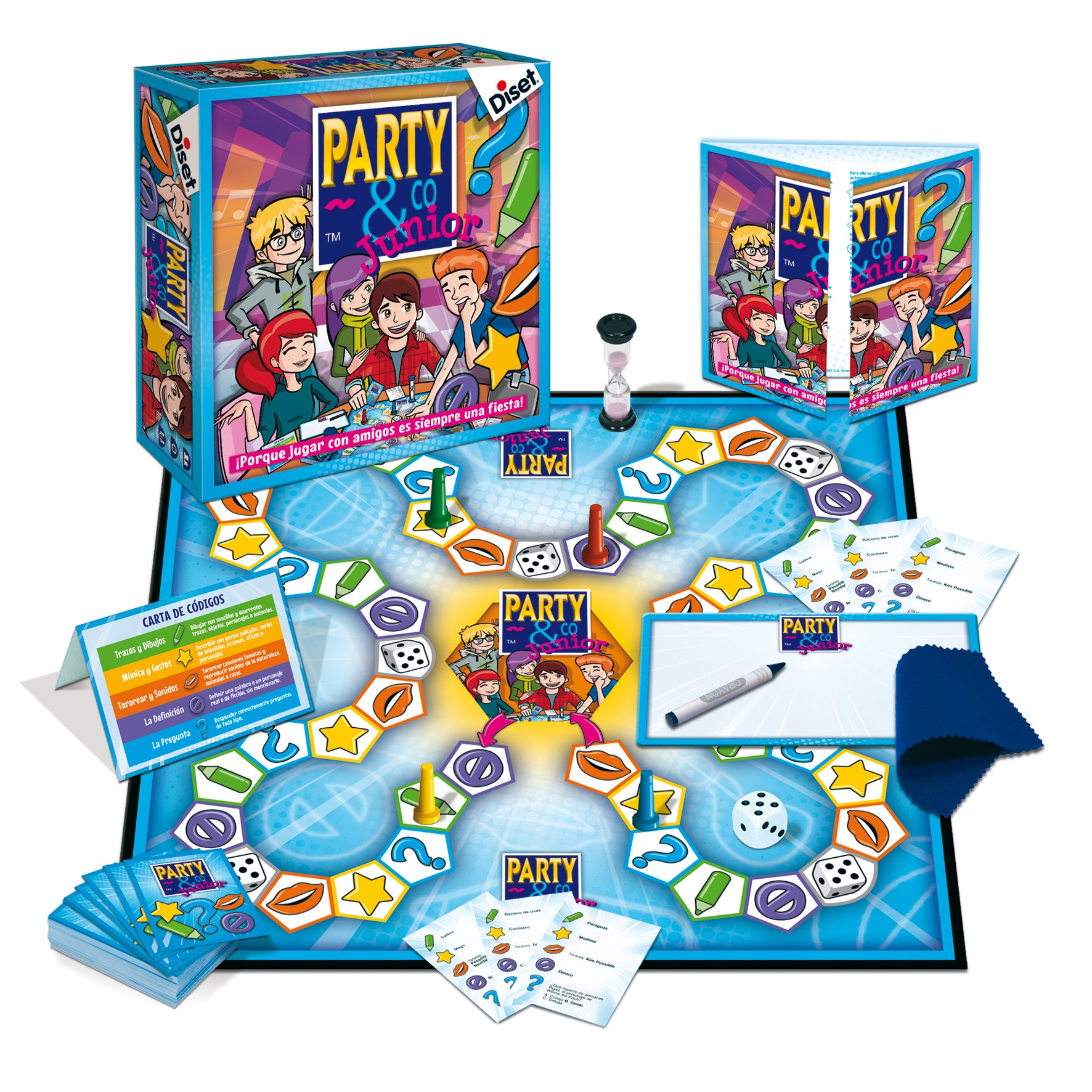 Comprar Diset Juego party & co junior 8+ 10103