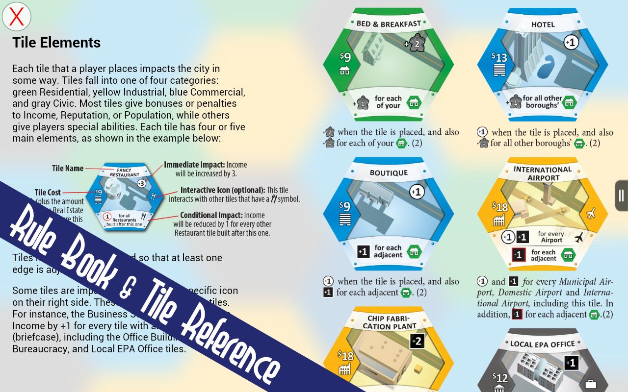 SUBURBIA City Building Board Game