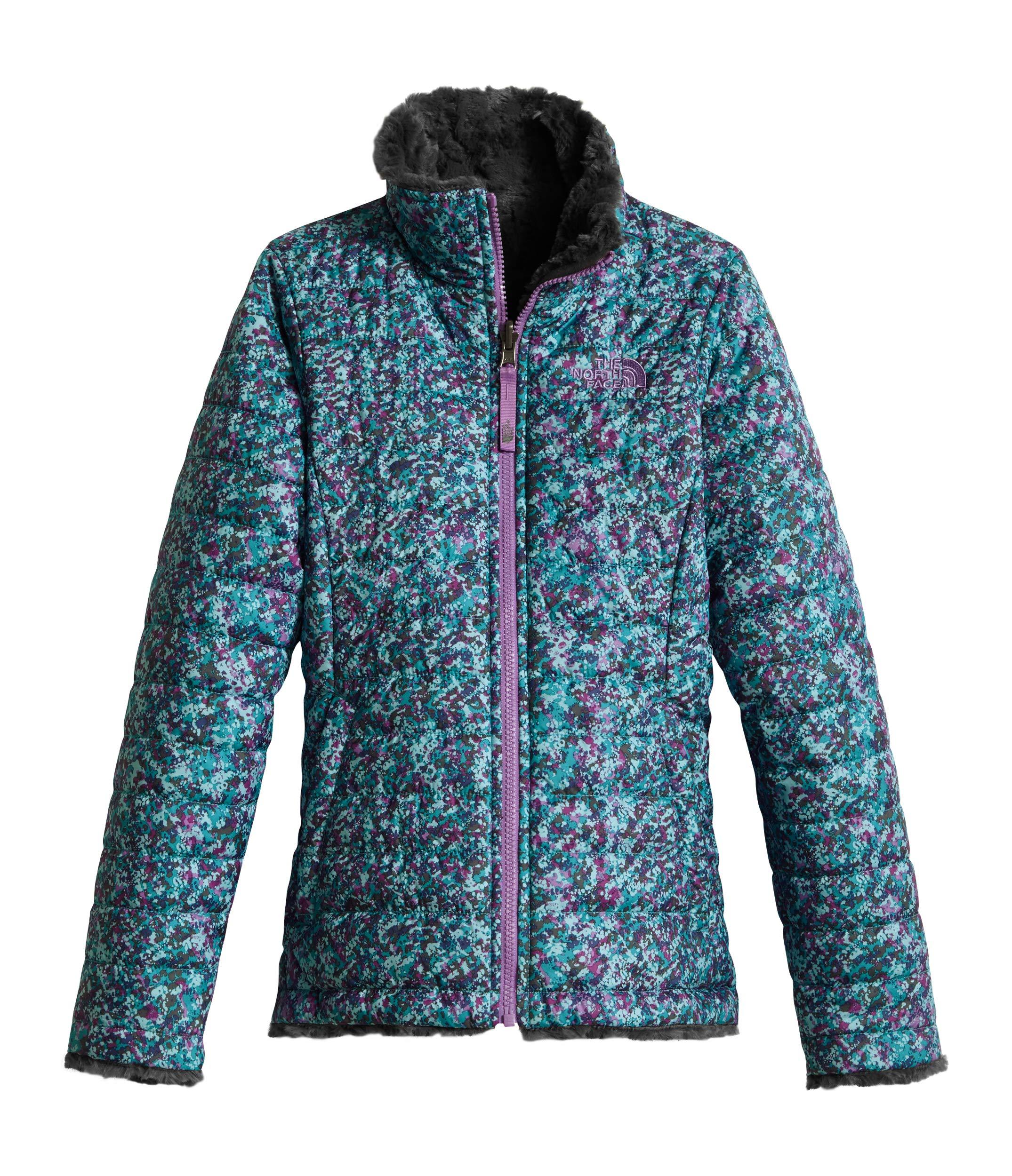 871ba4627b5 Galleon - The North Face Girl s Reversible Mossbud Swirl Jacket - Algiers  Blue Sponge Print - XS (Past Season)