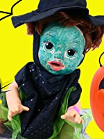 Baby Alive Gets Witch Halloween Costume + Surprise Toys Trick Or Treat Lambie Pumpkin & Blind Bags