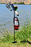 MiniFighter Fishing Rod Holder/BLACK