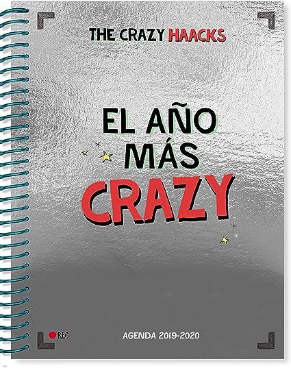 El año más crazy. Agenda curso 2019-2020 (Serie The Crazy Haacks ...
