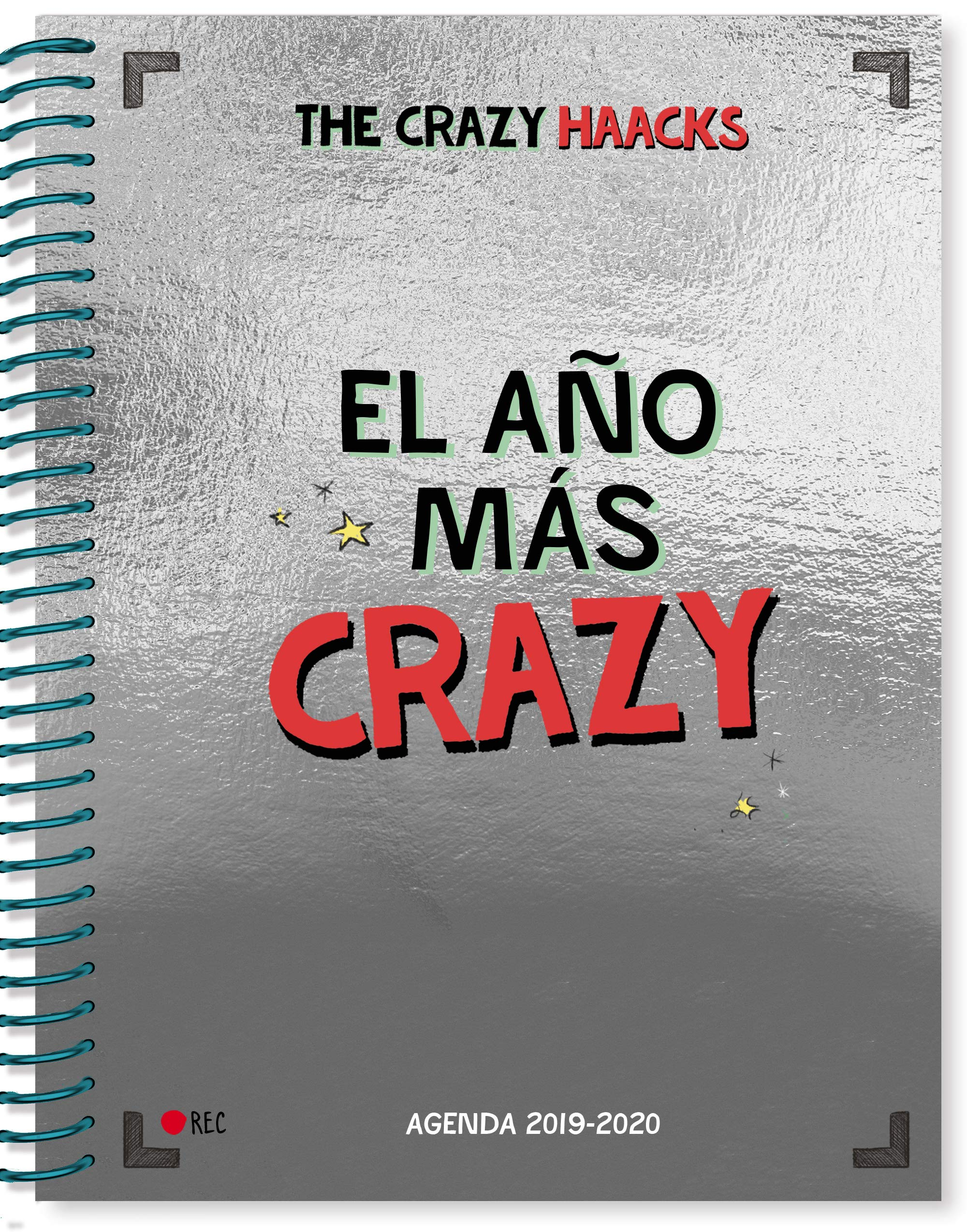 Agenda curso 2019-2020 Serie The Crazy Haacks: Amazon.es: The Crazy Haacks:  Libros