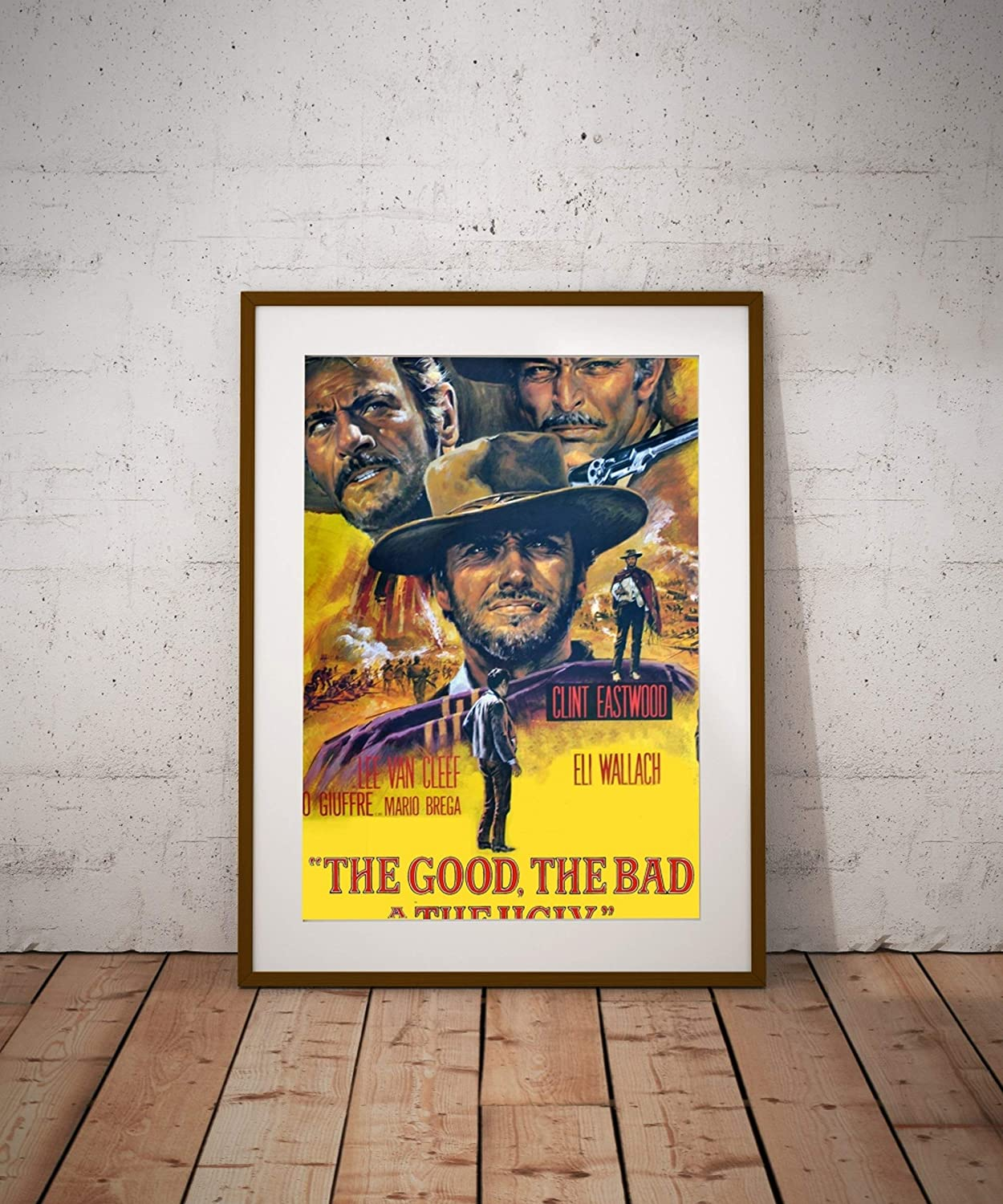 The Good The Bad and The Ugly Film Poster Wall Decor Poster Print Canvas Art Wall Art Print Gift Poster Unframed Printing Size - 11