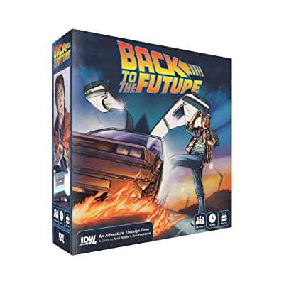 Back to The Future Adventure Through Time Game: Toys & Games