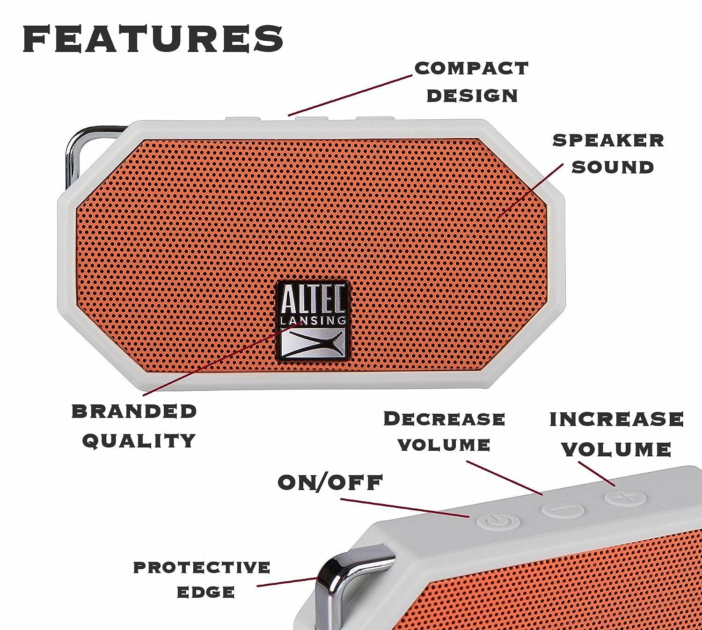 Altec Lansing IMW257 OW TA Waterproof Ultra Portable Image 2