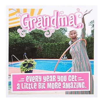Hallmark Geburtstagskarte Fur Oma Amazing Englischer Text Klein