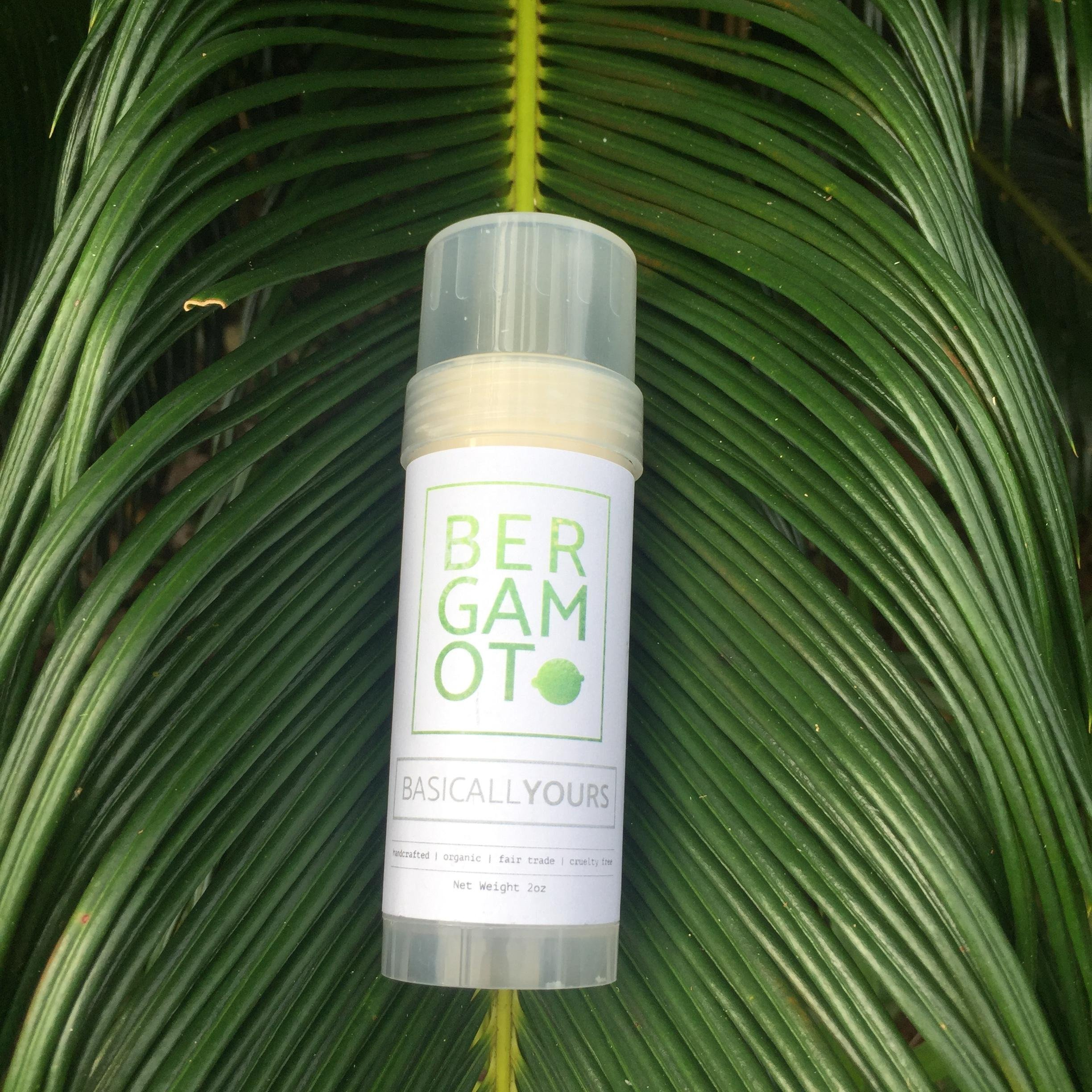 Super Effective Organic Deodorant - Aluminum Free - Infused with Plant Extracts