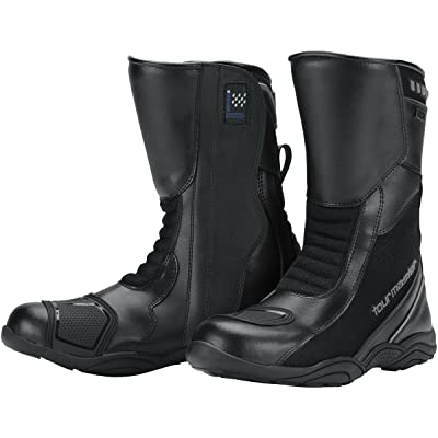 Tourmaster Mens Solution WP Air Road Boot (Wide sizes) - 13W: Automotive