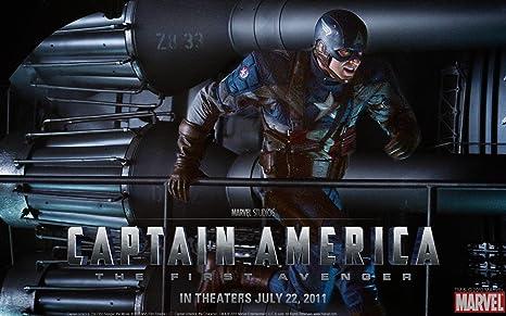 Posterhub Wall Poster a/Wallpaper-Marvel-Widescreen-Avenger