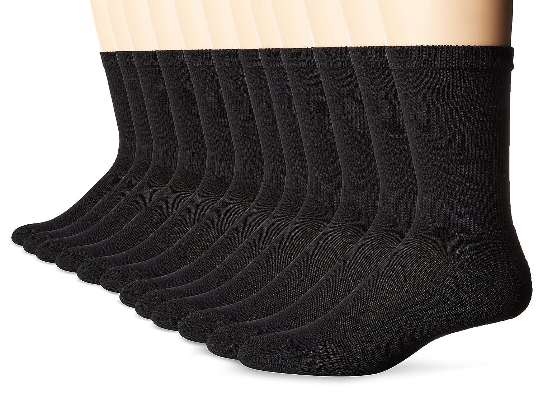 Hanes Men's Active Cool 12-Pack Crew Socks