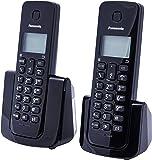Telefone sem Fio, Panasonic TGB112LBB, Preta