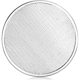 New Star Foodservice 50950 Seamless Aluminum Pizza Screen, Commercial Grade, 12-Inch, Pack of 6