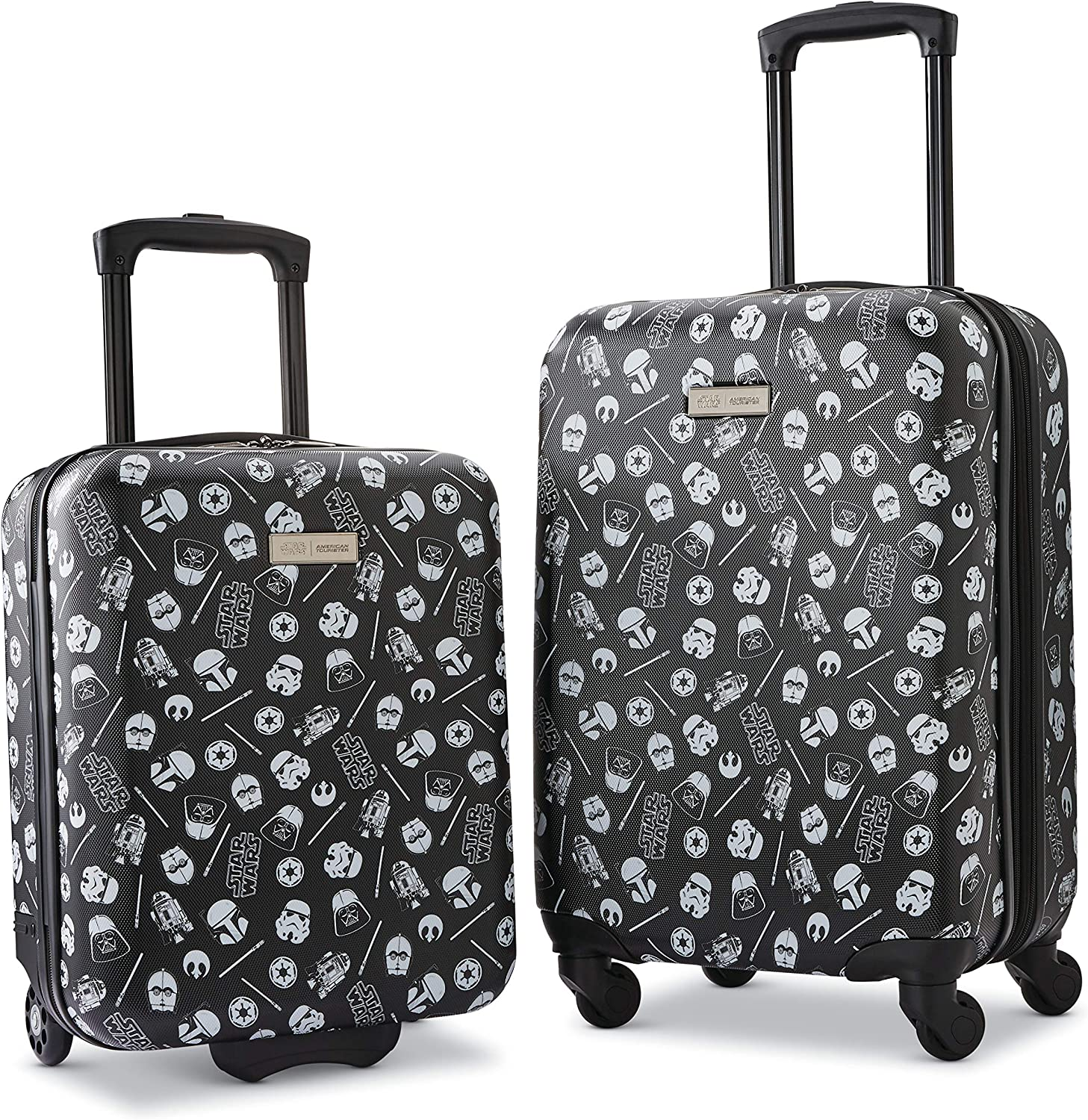 Amazon Com American Tourister Disney Hardside Luggage With Spinner Wheels Star Wars 2 Piece Set 18 21 Kids Luggage