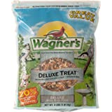 Wagner's 62067 Deluxe Treat Blend Wild Bird Food, 4-Pound Bag