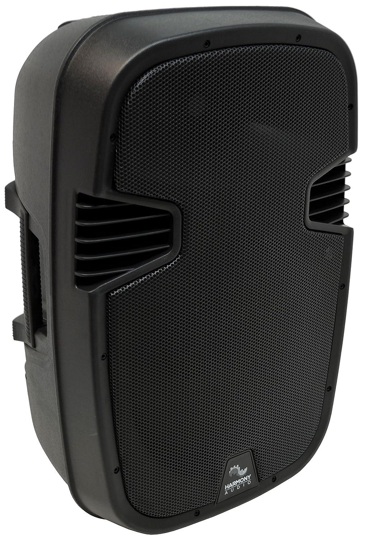 Harmony Audio HA-L12BA Pro DJ Live Series Bluetooth 12 Powered 1000W PA Speaker