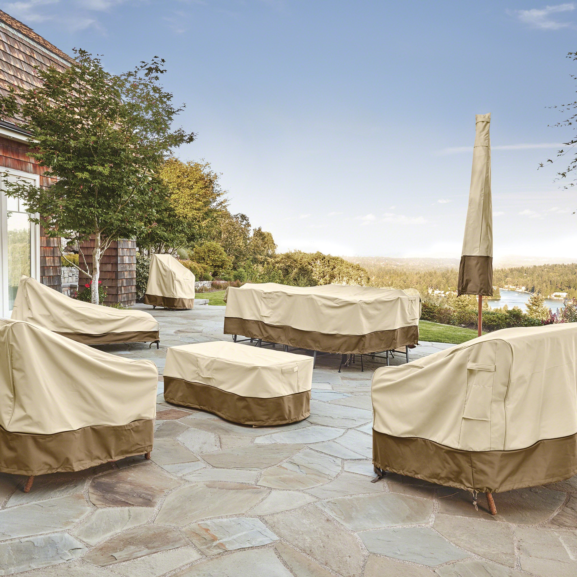Classic Accessories Veranda Patio Deep Seat Lounge Chair Cover (4-Pack) by Classic Accessories (Image #6)