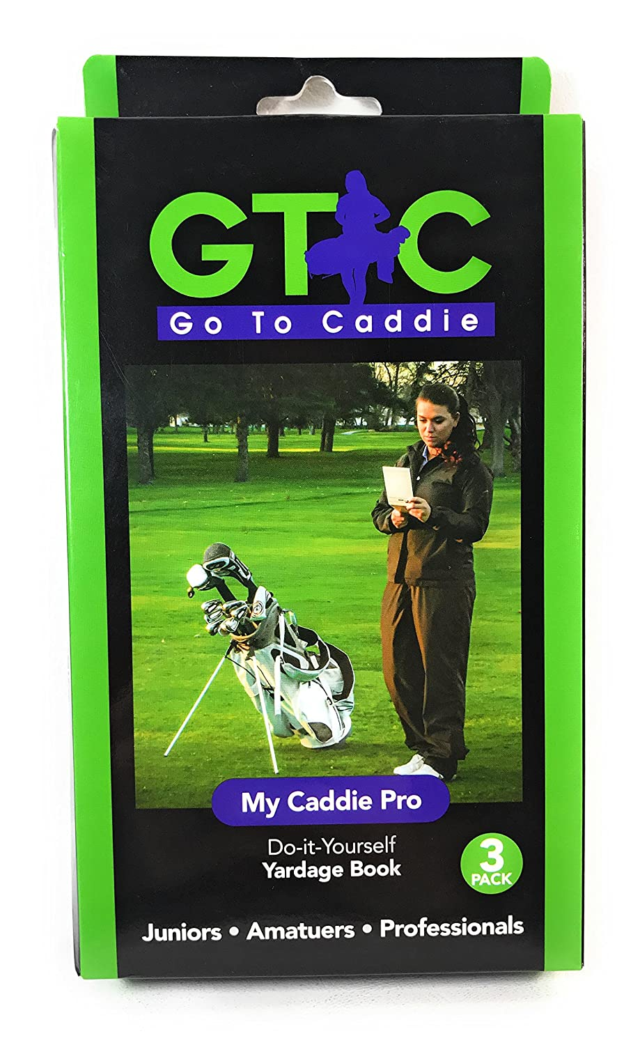 Amazon.com: Golf Yardage Book -My Caddie Pro 3 Pack: Sports & Outdoors