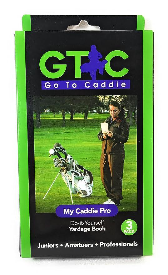 Amazon golf yardage book my caddie pro 3 pack sports outdoors golf yardage book my caddie pro 3 pack solutioingenieria Gallery