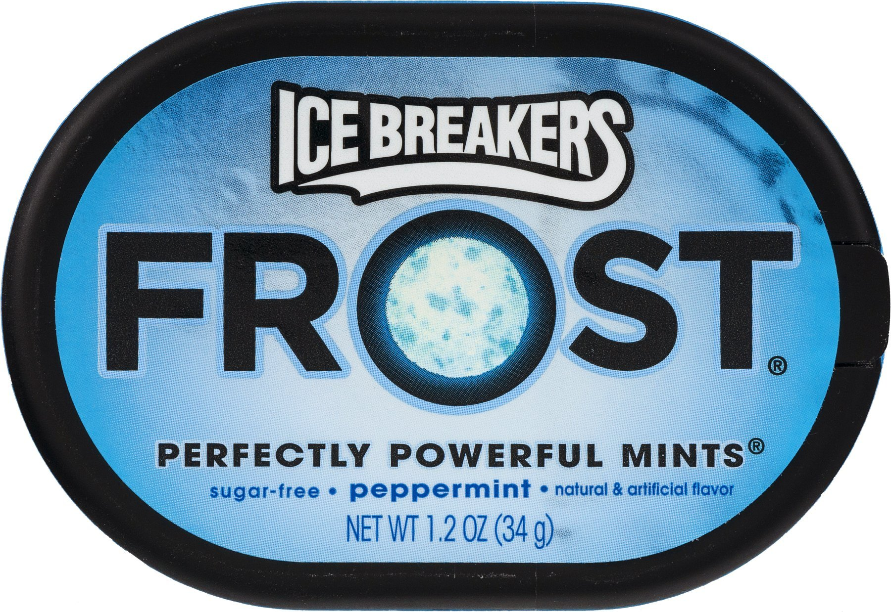 Ice Breakers Frost Peppermint Pucks, 1.2 oz Pucks (Pack of 20)