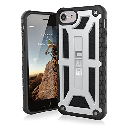 finest selection a0e78 3c4ed UAG iPhone 8 / iPhone 7 / iPhone 6s [4.7-inch screen] Monarch Feather-Light  Rugged [PLATINUM] Military Drop Tested iPhone Case