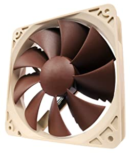 Noctua NF-P12, 3-Pin Premium Cooling Fan (120mm, Brown)