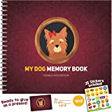 MY DOG MEMORY BOOK - Cute and Funny Keepsake Booklet for Proud Pet Owners. Female Dog Edition!