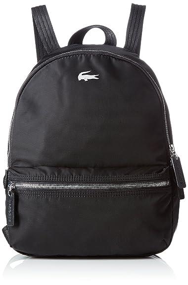 Lacoste Damen NF18 Tasche, Schwarz (Black), 34 x 14.5 x 25 cM