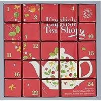 """English Tea Shop - Tee Adventskalender""""Pink Christmas"""", 24 einzelne Boxen mit würzigen BIO-Tees in hochwertigen Pyramiden-Teebeutel"""