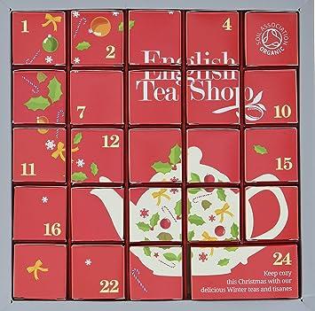 English Tea Shop Advent Calendar Tea Pot 48g Amazon Com