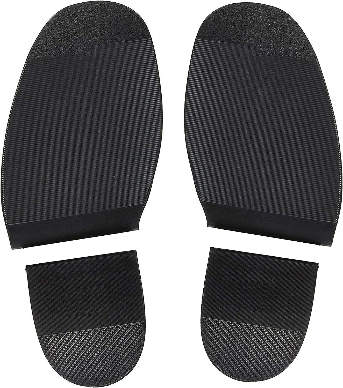 S//M//L foot stick on anti slip shoe sole rubber repair kit boot men ladies/_#V