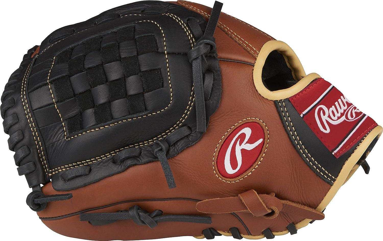RAWLINGS Unisexe Sable Sandlot S/érie Cuir Gant de Baseball Modifi/és Regular