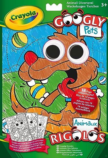 Crayola 5124 Album Da Colorare Animali Divertenti Amazonit