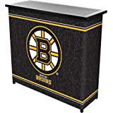 Trademark Global NHL Portable Shelf Bar with Carrying Case, 2-Piece