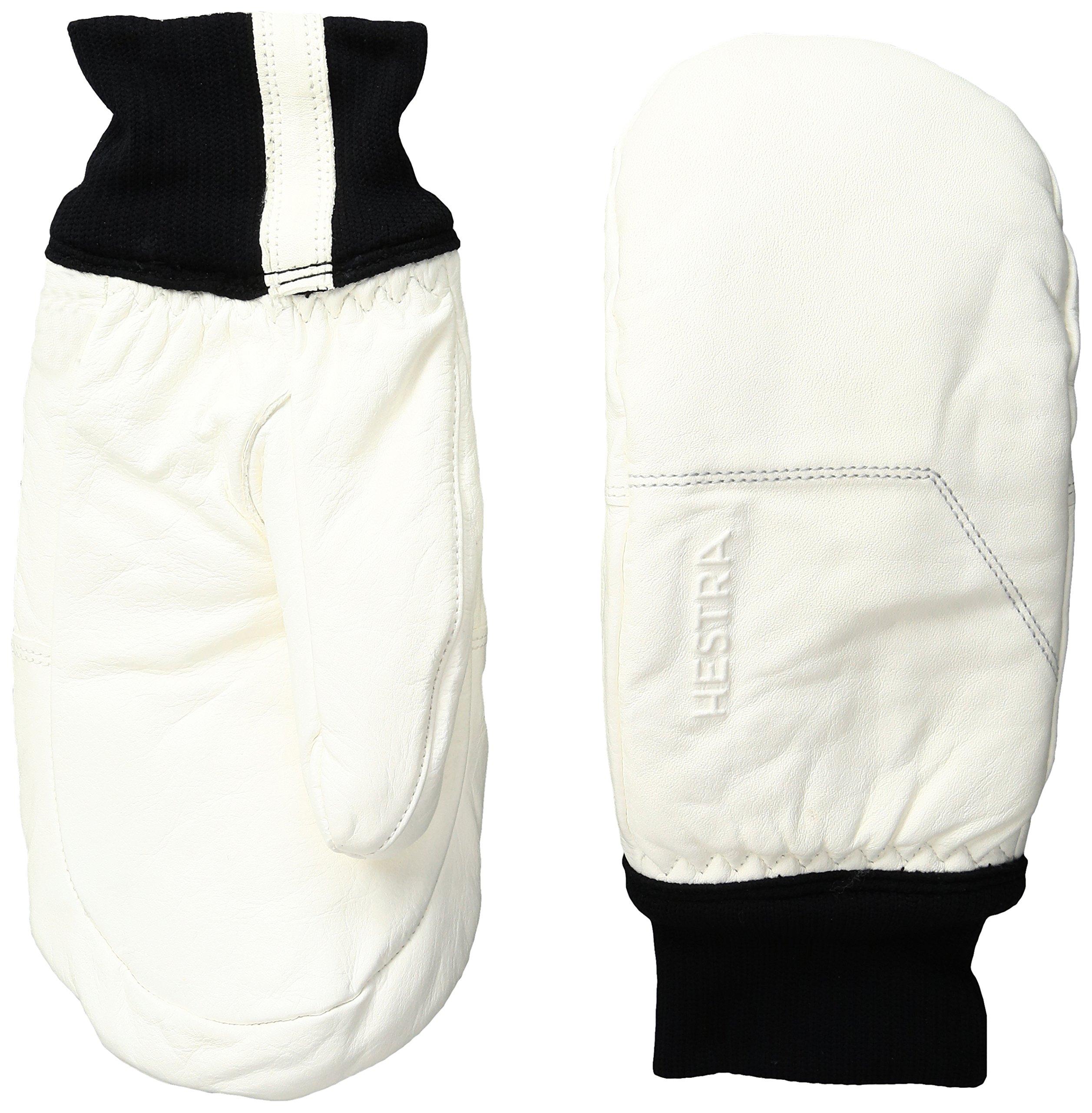 Hestra Omni Mittens, Off White/Off White, Size 6