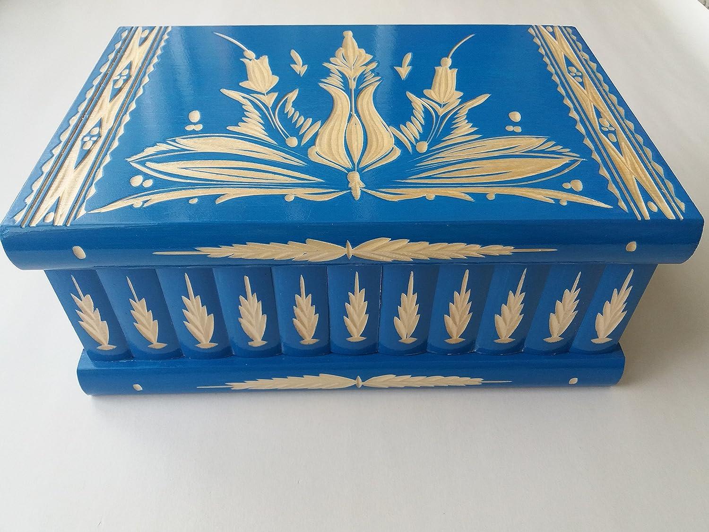 Gigante caja puzzle grande azul enorme del rompecabezas de la caja ...