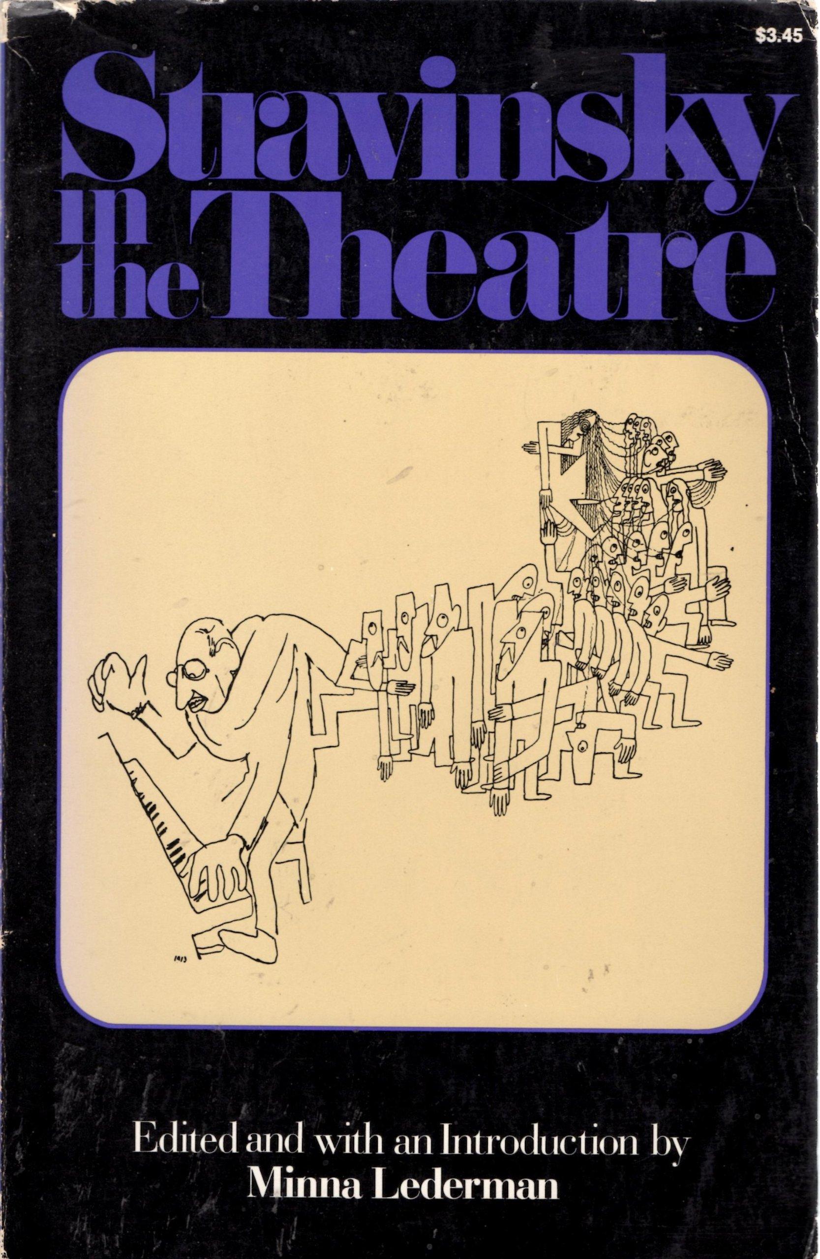 Stravinsky in the Theatre Cover Art