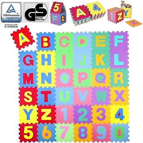 Kiduku Puzzle Tapis Mousse Bebe 86 Pieces Tapis De Jeu Tres