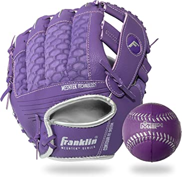 Franklin Sports - Juego de Guantes y Pelotas de béisbol de Espuma ...
