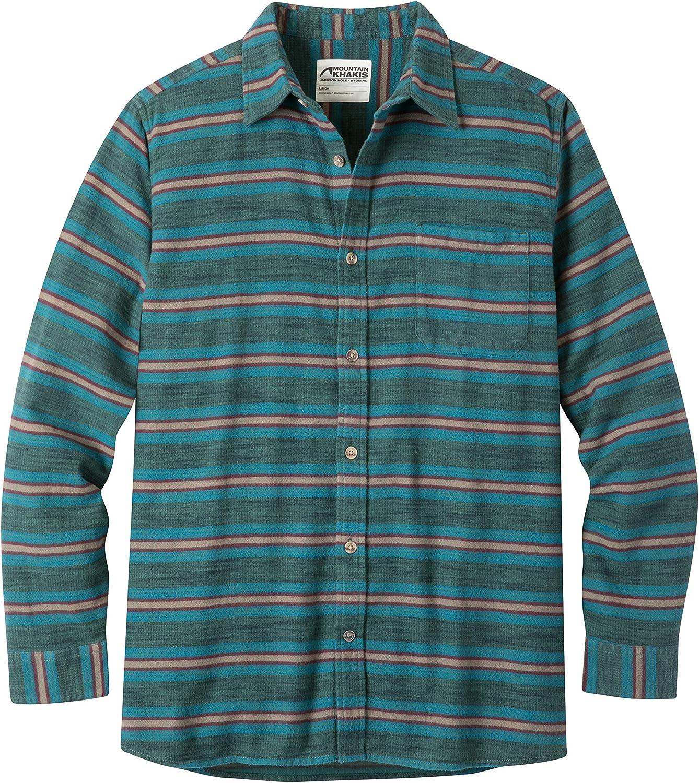 Mountain Khakis Mens Lundy Flannel Shirt Deep Sea XX-Large