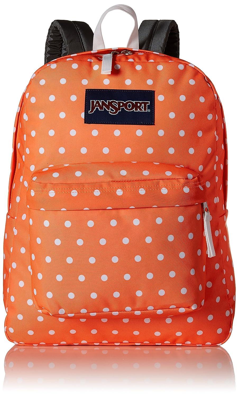 Amazon.com: JanSport SuperBreak, Tahitian Orange/White Dots One Size: Clothing