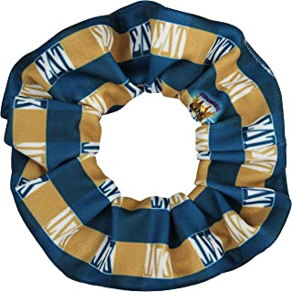 product image for Sigma Delta Tau Sorority Scrunchies Officially Licensed Greek Letter Plaid Bid Day Ponytail Holders Scrunchie King Made in the USA