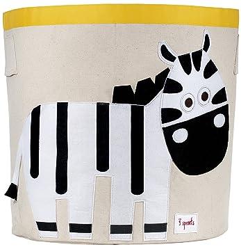 3 Sprouts Storage Bin, Zebra