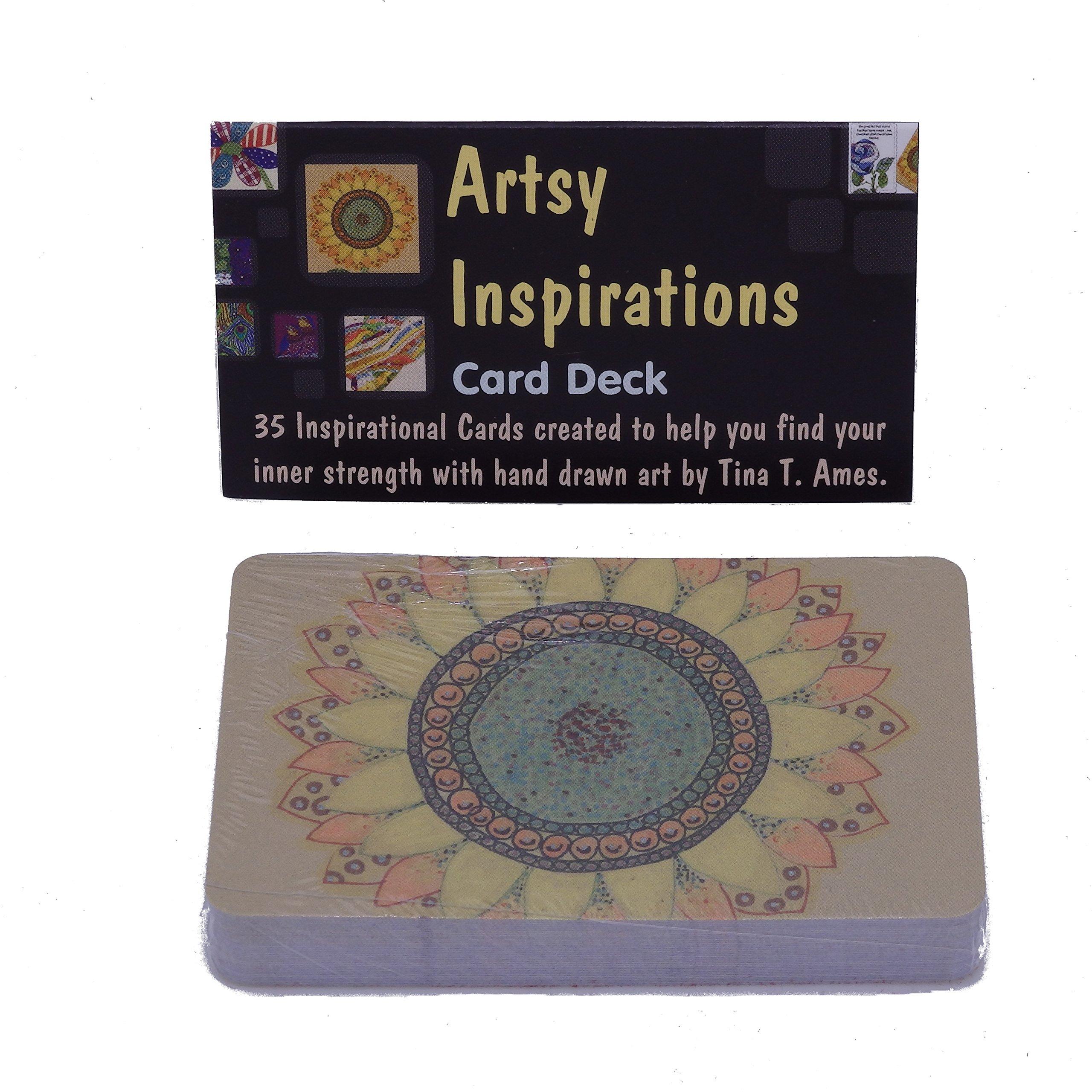 artsy inspirations card deck magically reveals advice ideas