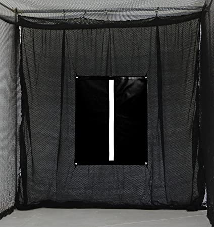 Amazon Com Select 10 X10 Golf Net Baffle With Golf Net Hitting Target Backstop Training Aid Sports Outdoors