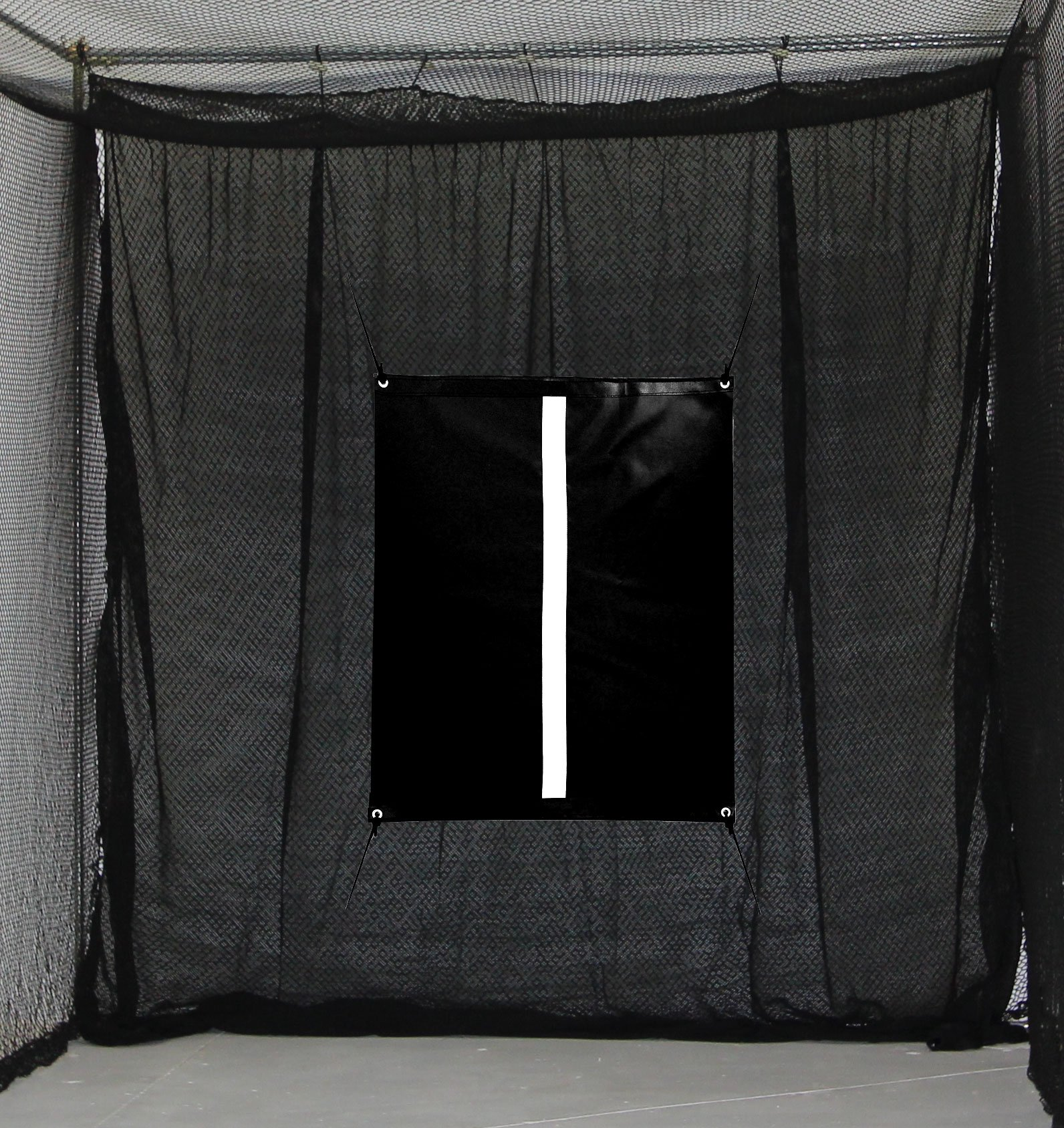 Select 10'x10' Golf Net Baffle with Golf Net Target Backstop Training Aid