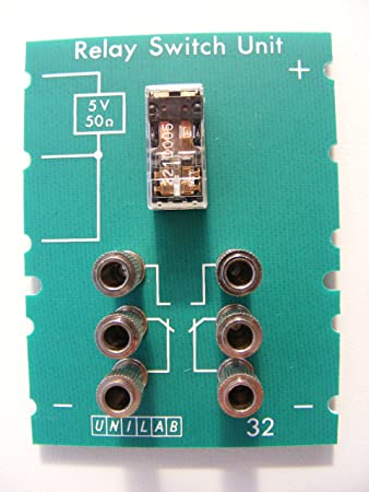unilab relay switch unit board no 32 for system alpha