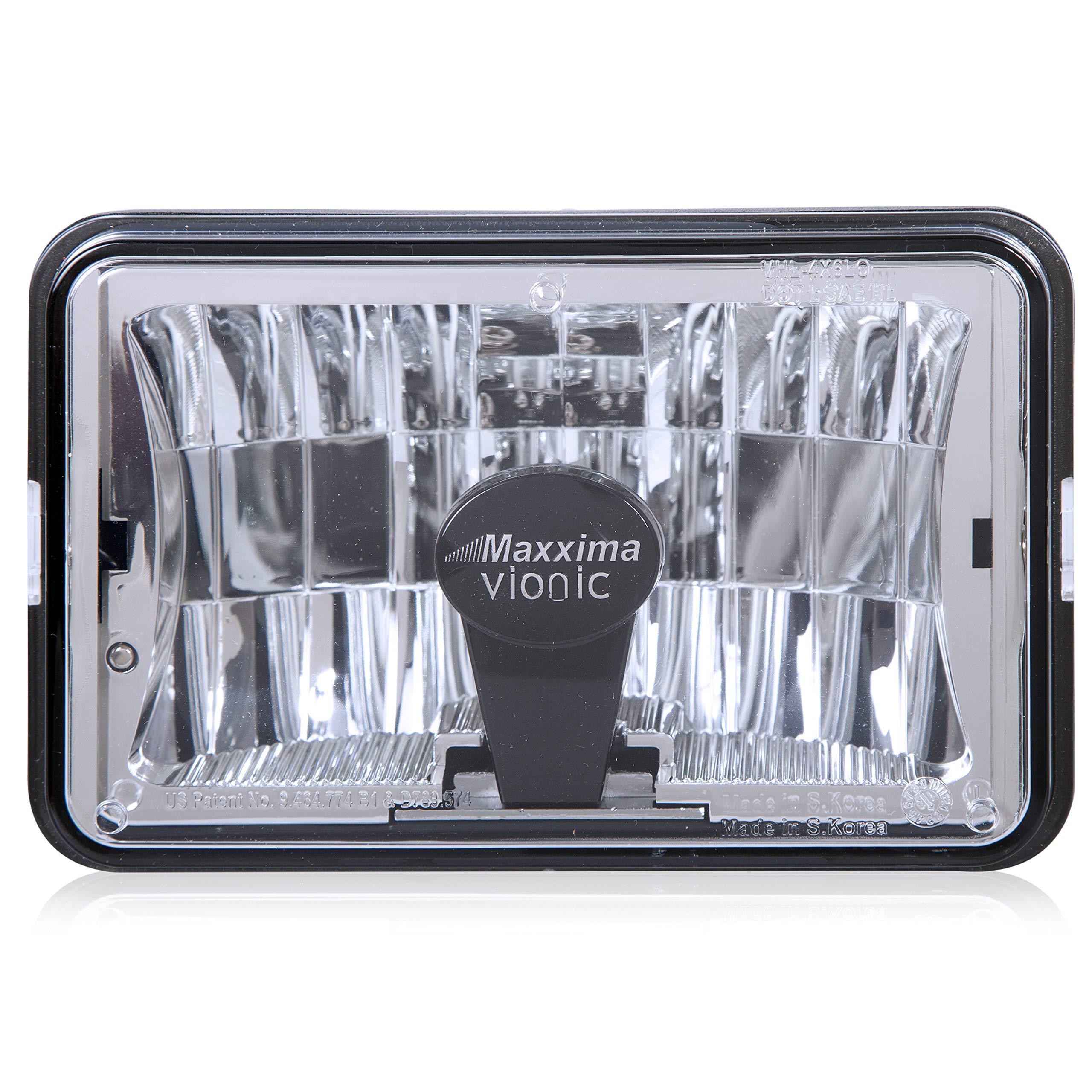 Maxxima VHL-4X6LO-MH Vionic 4'' X 6'' Head Lamp Low Beam Only MaxxHeat Lens