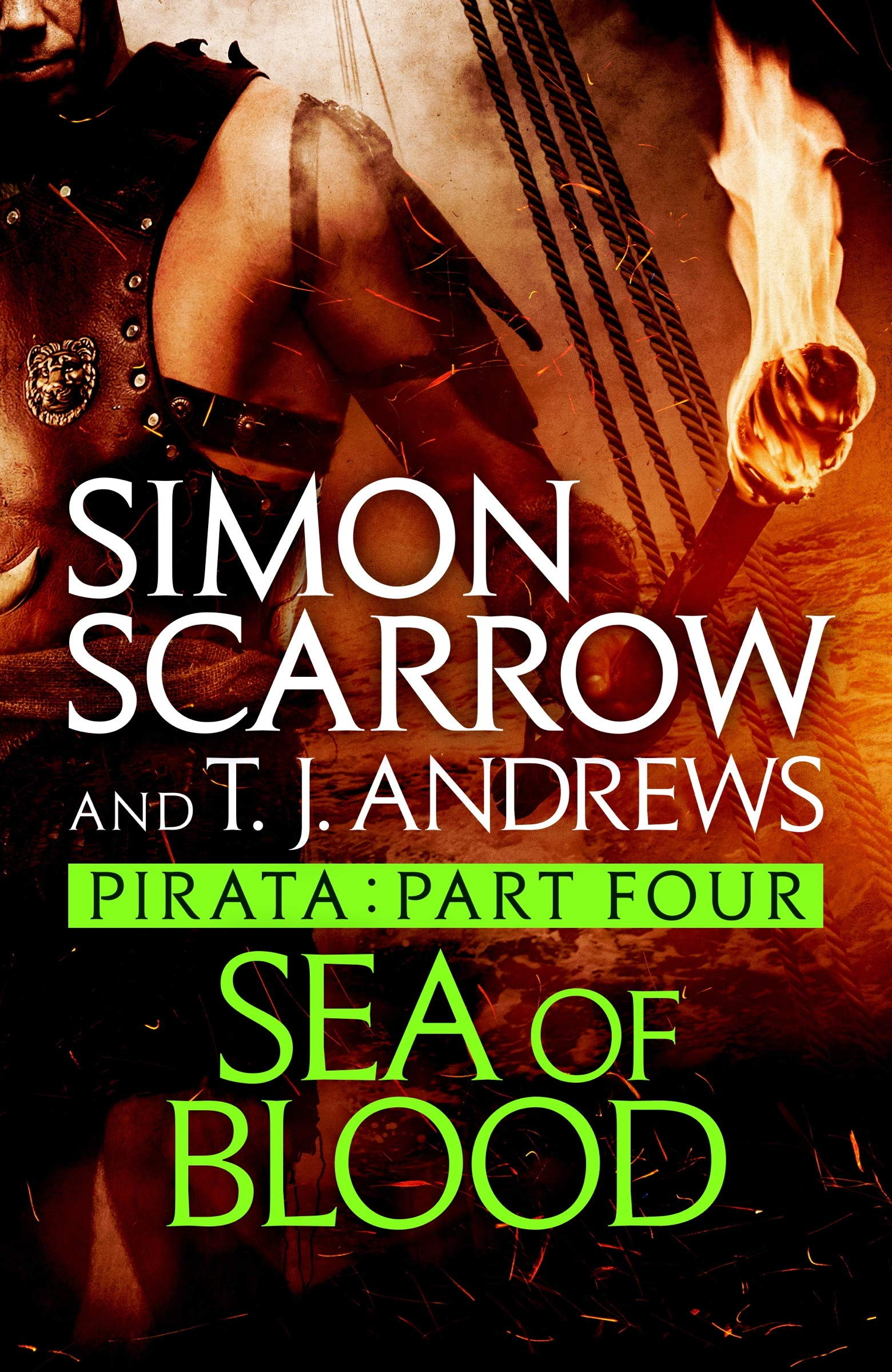 Pirata: Sea of Blood: Part four of the Roman Pirata series por Simon Scarrow