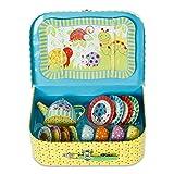 Wiggly Bug Tin Tea Set & Carry Case Toy